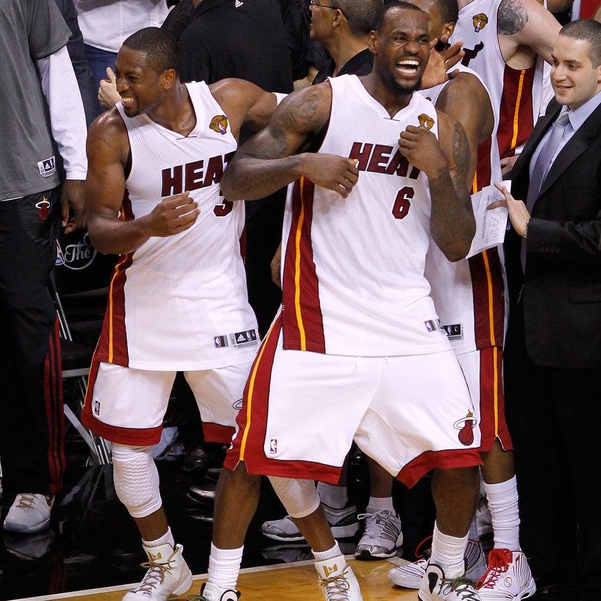Coffee Talk: LeBron James and Dwyane Wade Lead Miami Heat to NBA Victory