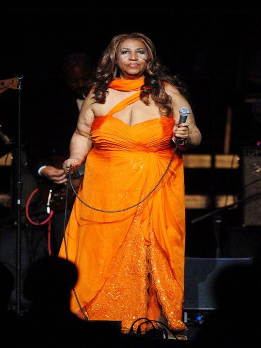 Aretha Franklin Earns Top Spot on Rolling Stone's 'Women Who Rock' List