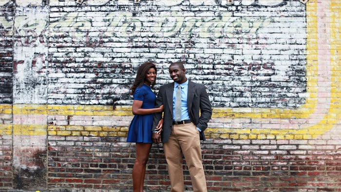 Just Engaged: Shavon and John