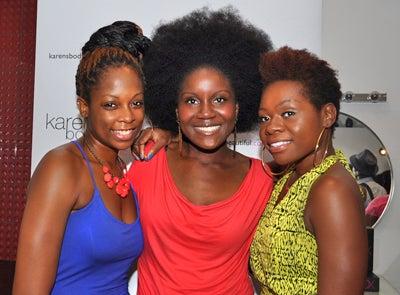 Street Style Hair: Karen's Body Beautiful & curlBOX Meet-up