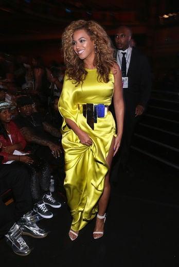 Beyoncé and Kanye West at BET Awards