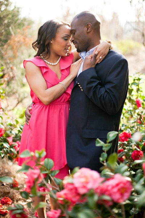 Just Engaged: Janee and Robert