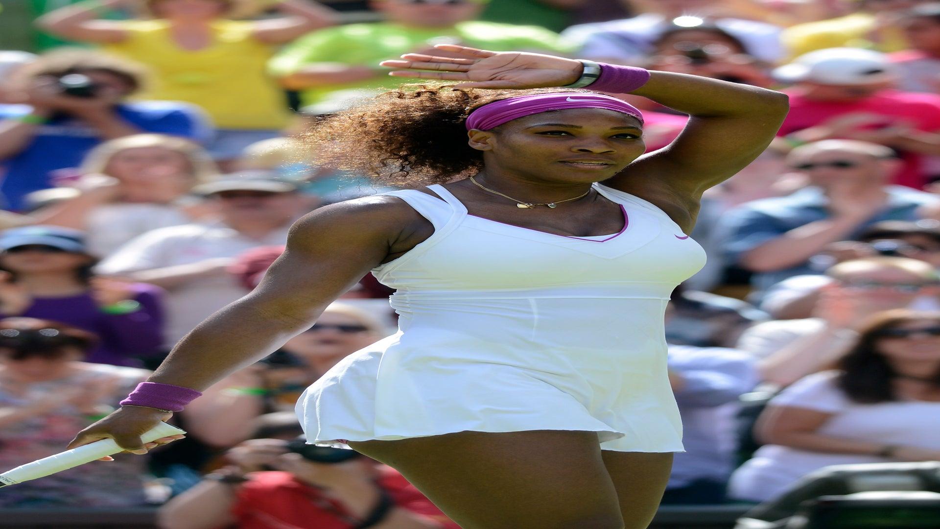 Serena Williams Advances to Wimbledon Quarterfinals