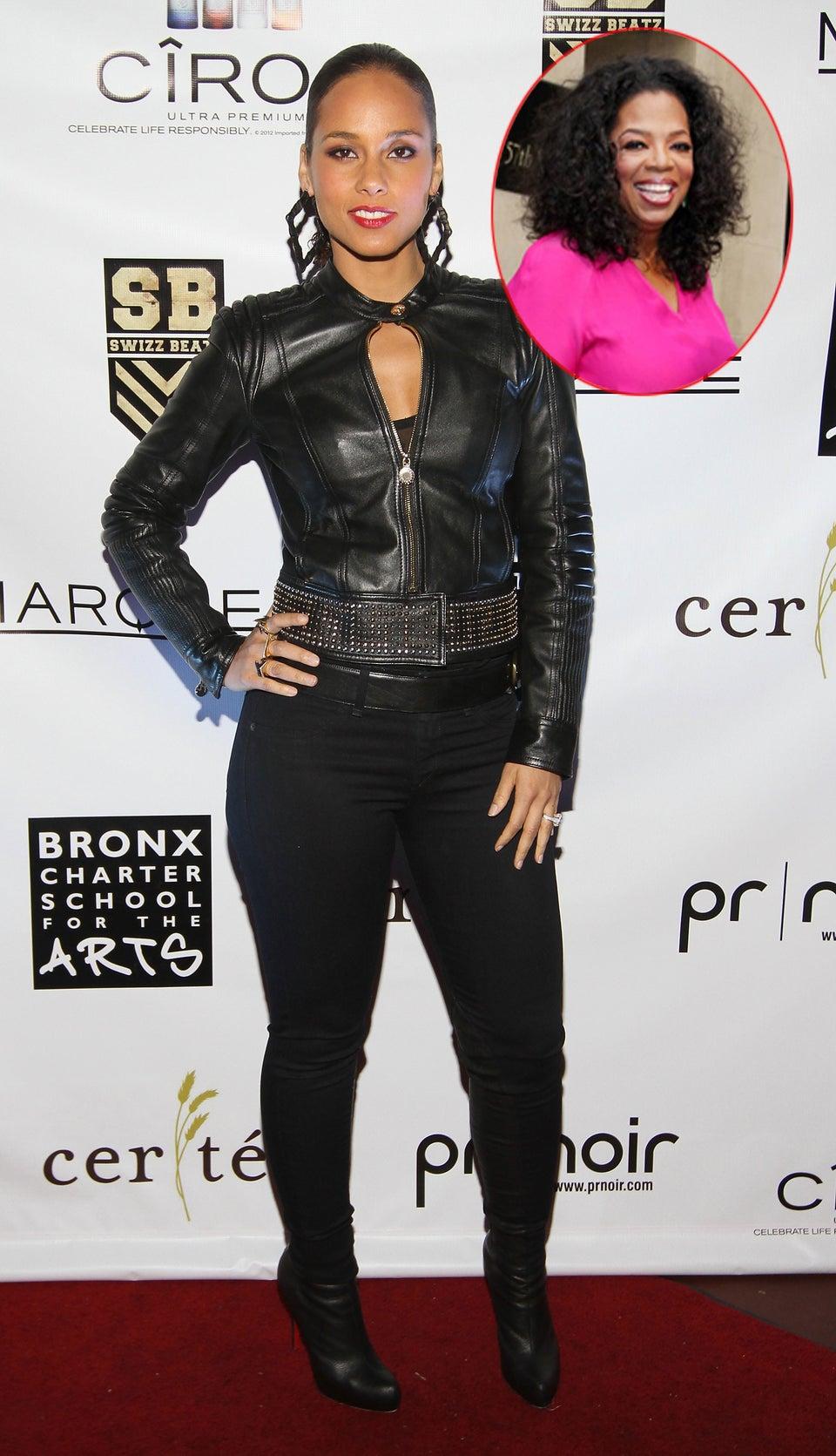Coffee Talk: Alicia Keys' 'Keep a Child Alive' Charity to Honor Oprah Winfrey