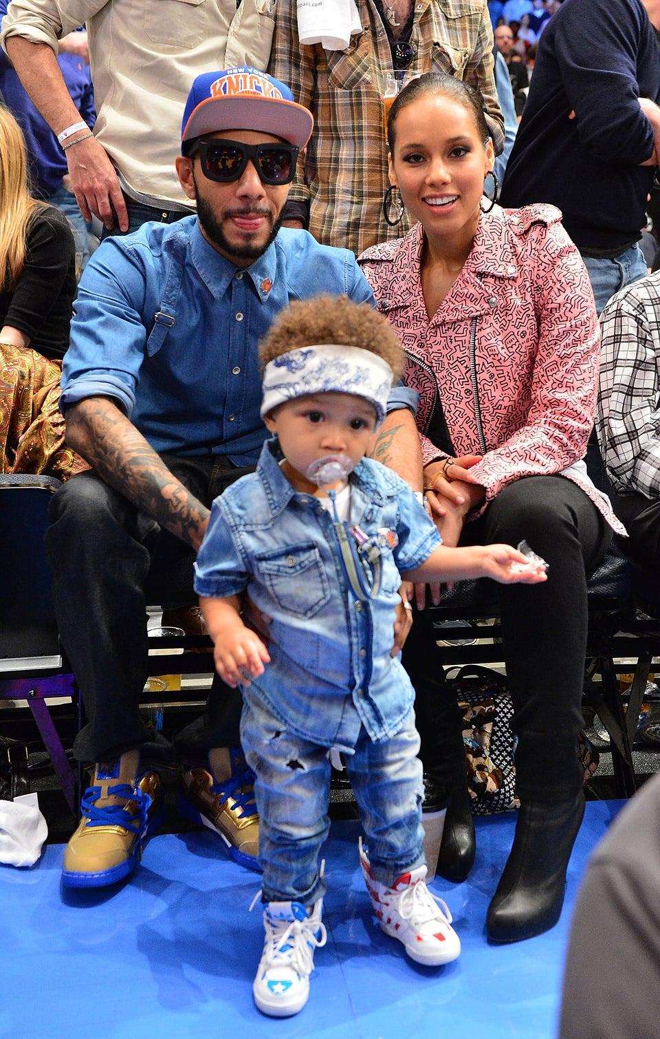 Swizz Beatz: Alicia Keys is a 'Natural Mom'