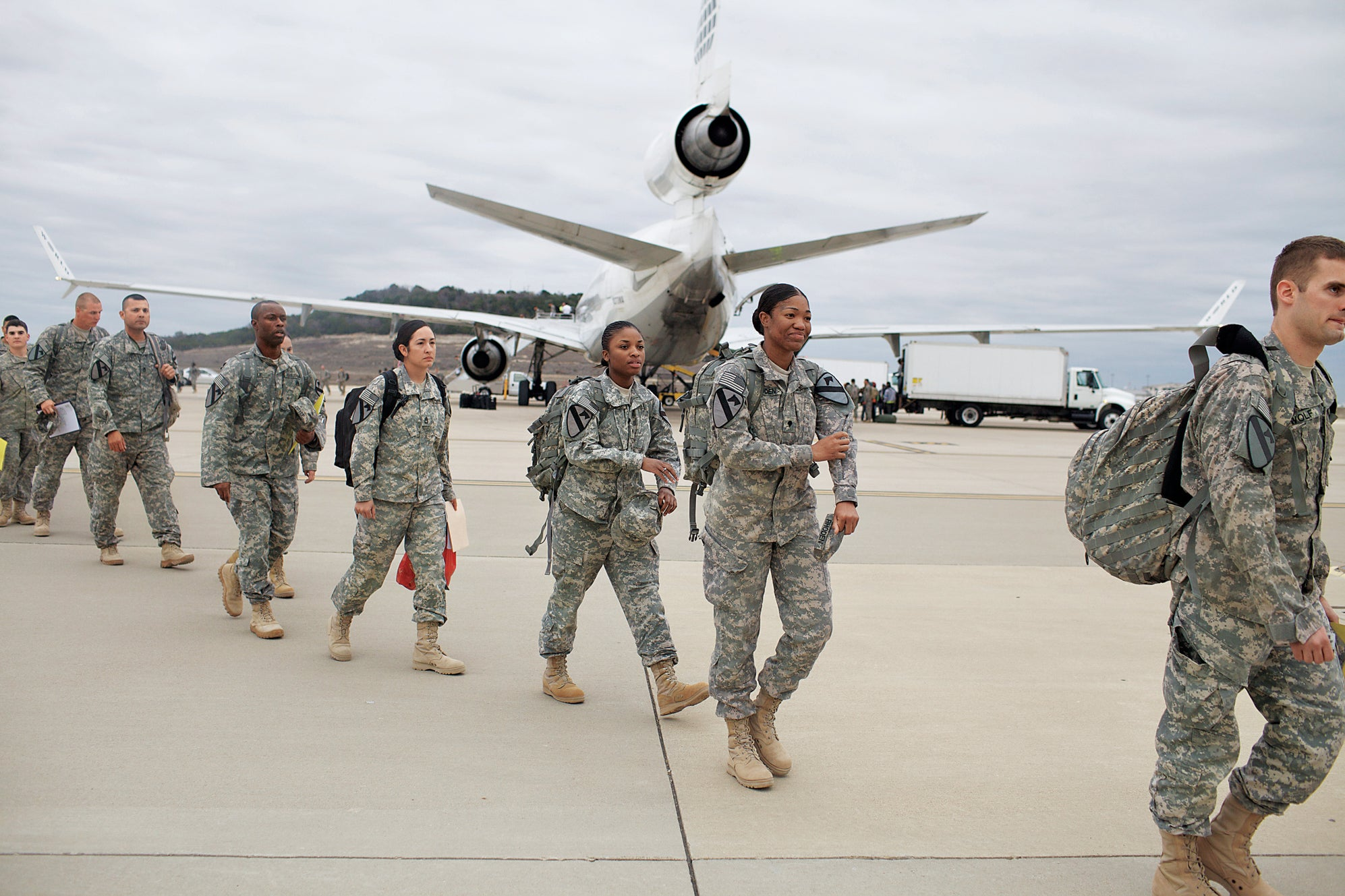 Back in the U.S.A.: Army Soldiers Return Home and Discuss What's Next