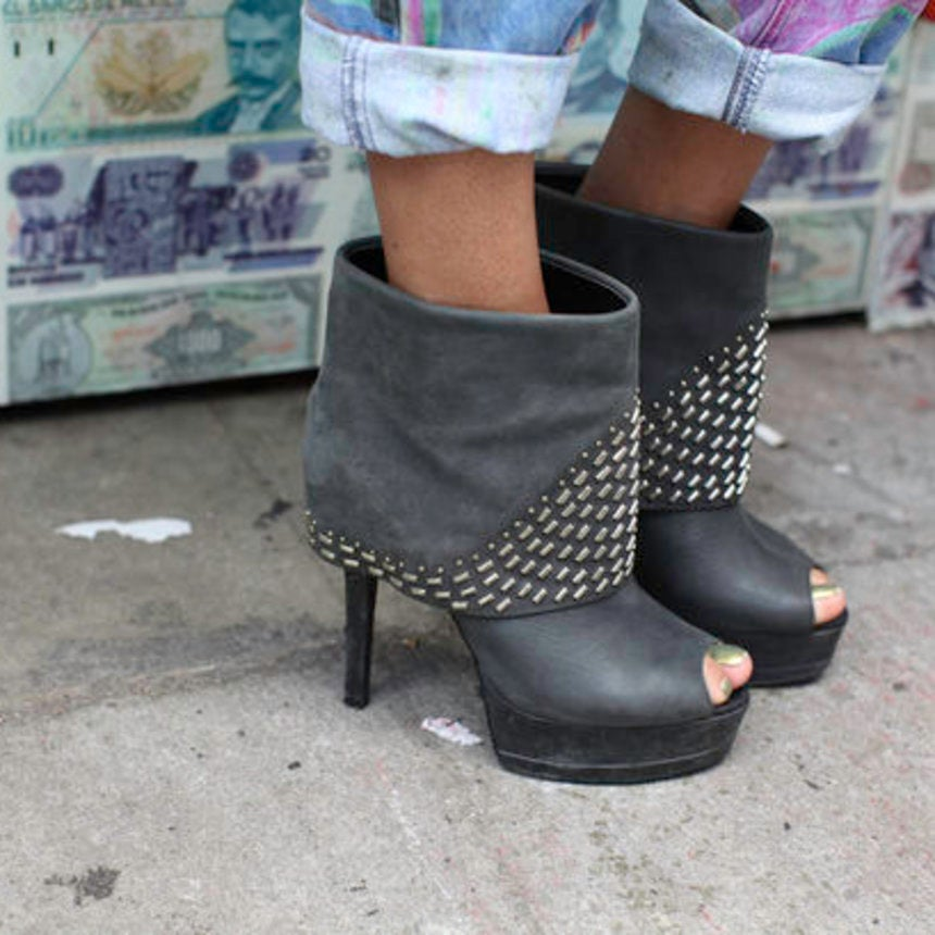 Accessories Street Style: Spiked and Studded Styles