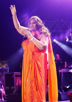 Aretha Franklin Expresses Interest in Joining 'American Idol'