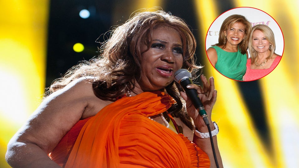 Aretha Franklin Demands R-E-S-P-E-C-T from Kathie Lee Gifford and Hoda Kotb