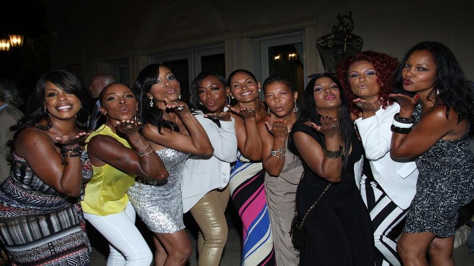 EXCLUSIVE Photos: Shaun Robinson's Star-Studded Birthday Party