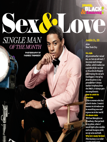 Go Behind the Scenes With Single Man of the Month Justin D.