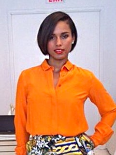 Hairstyle File: Alicia Keys