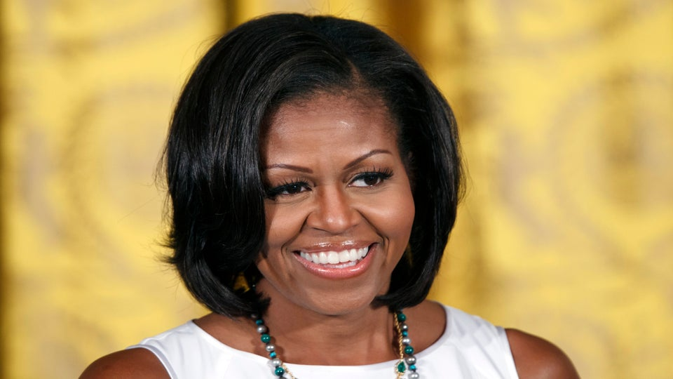 First Lady Michelle Obama Launches New Campaign, Tells Voters 'It Takes One'