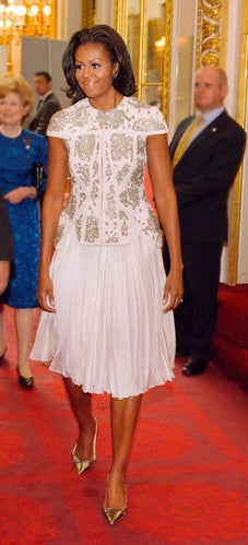 First Lady Style: Michelle Obama's Olympics Opening Ceremony Look