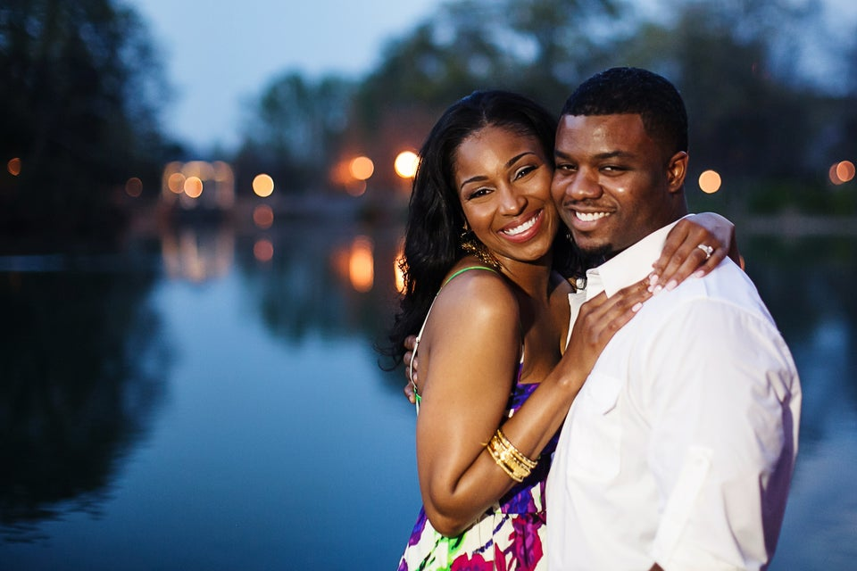 Just Engaged: Alicia and Lance