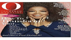 Oprah Rocks Her Natural Hair on the Cover of 'O, the Oprah Magazine'