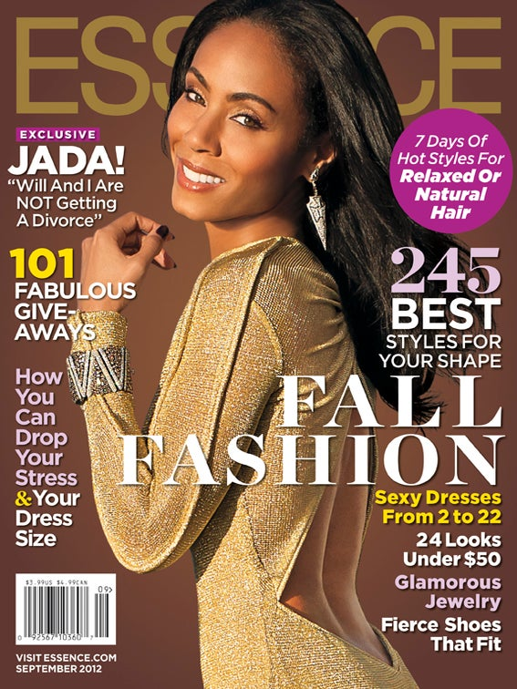 Jada Pinkett Smith Graces the September Issue of ESSENCE