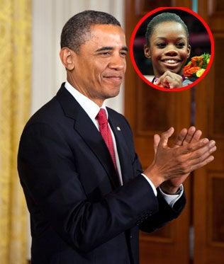 President Obama Calls to Congratulate Gabby Douglas