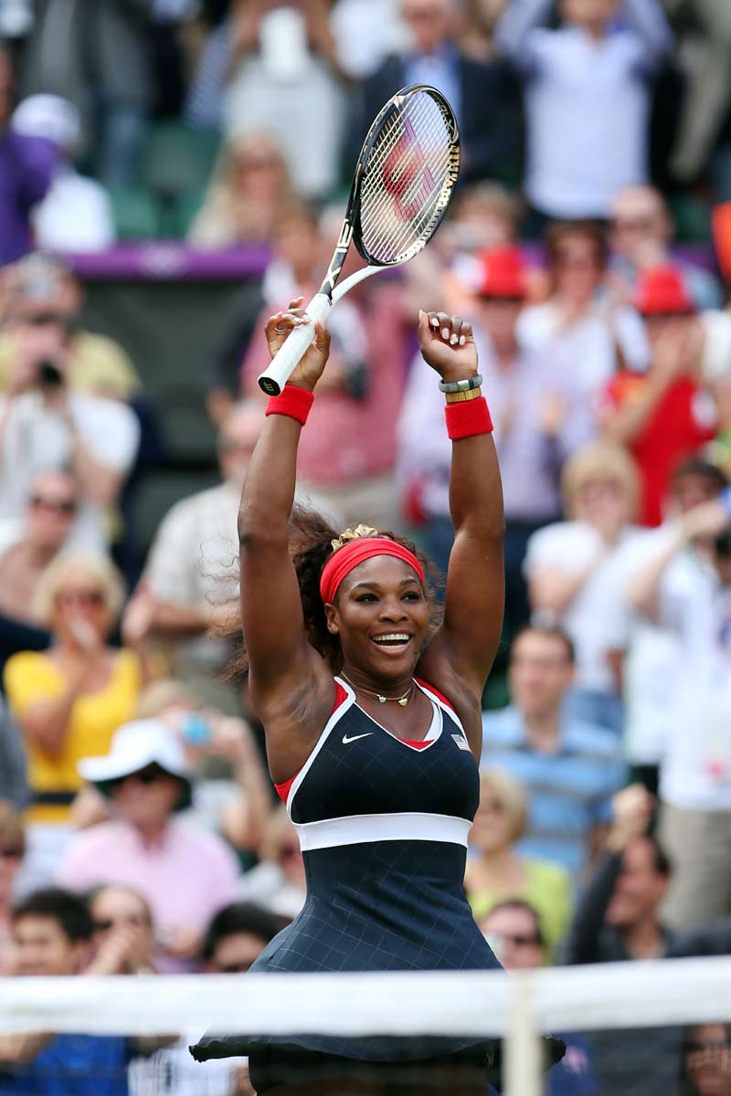 Serena Williams Wins Gold, Becomes Second Woman to Ever Win Career Golden Slam