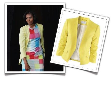 Diva on a Dime: The First Lady's Summer Style for Less