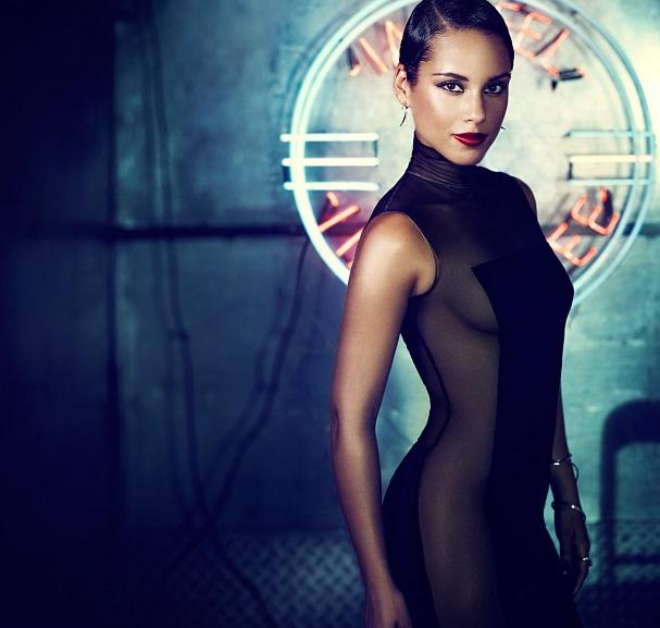 Coffee Talk: Alicia Keys Names New Album 'Girl on Fire'