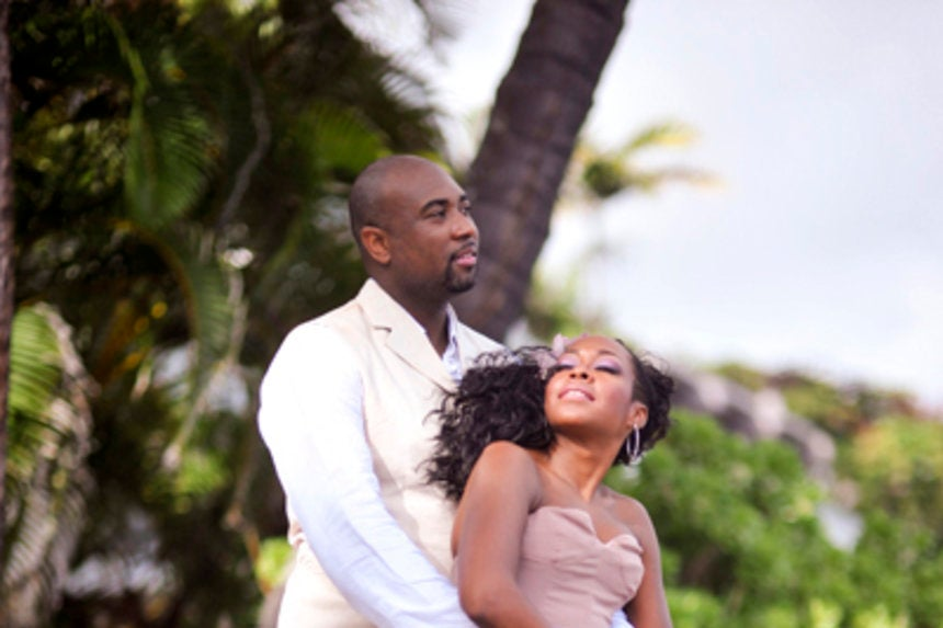 Bridal Bliss Exclusive: Tichina Arnold's Hawaii Wedding Photos ...