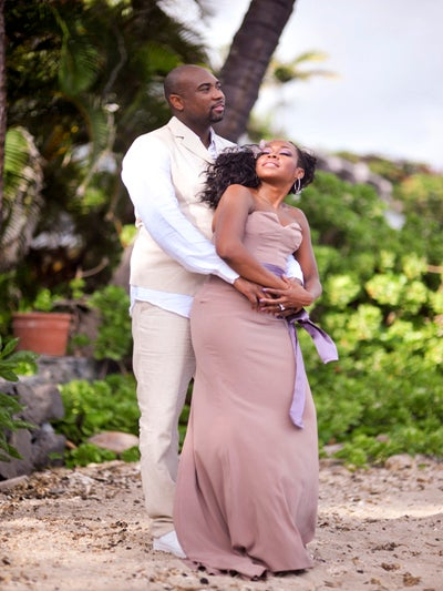 Bridal Bliss Exclusive: Tichina Arnold's Hawaii Wedding Photos