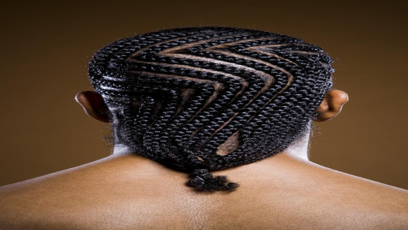 This Man Rocking Five Different Styles of Cornrows Is Your Daily Dose of #HairGoals