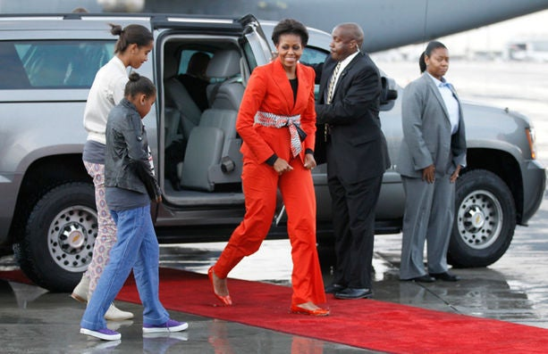 First Lady Style: Chic Cinching