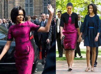 Michelle Obama Repeat Fashion Moments