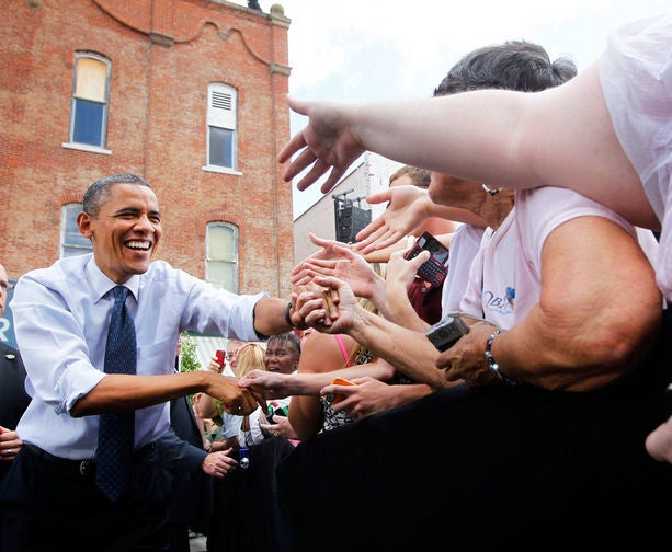 Must-See: President Obama Addresses Mitt Romney and Uniting the American People