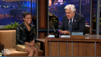Must-See: Gabby Douglas Shines on 'The Tonight Show'