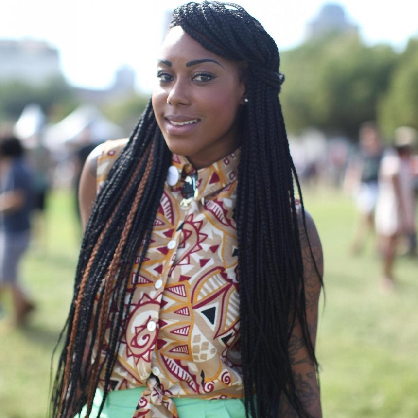 Street Style Hair: Eclectic Coifs at the AfroPunk Festival
