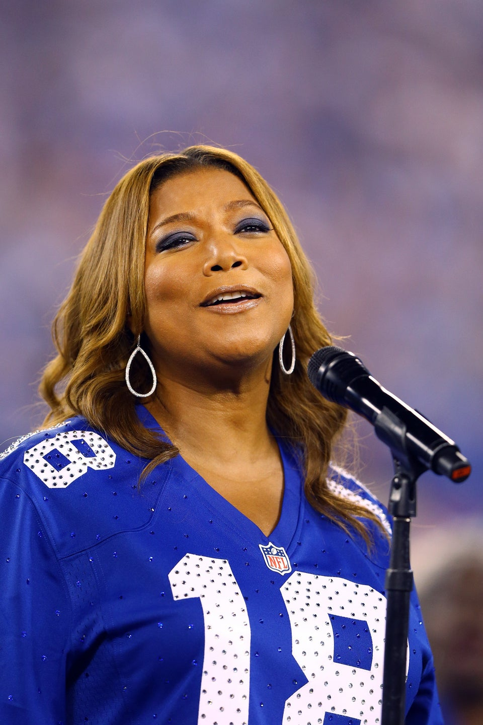 Must-See: Check Out Queen Latifah's Jazzy Rendition of the National Anthem