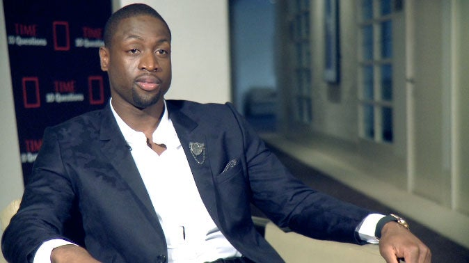 EXCLUSIVE: Dwyane Wade Talks New Book, 'Father First' and Being There For His Kids