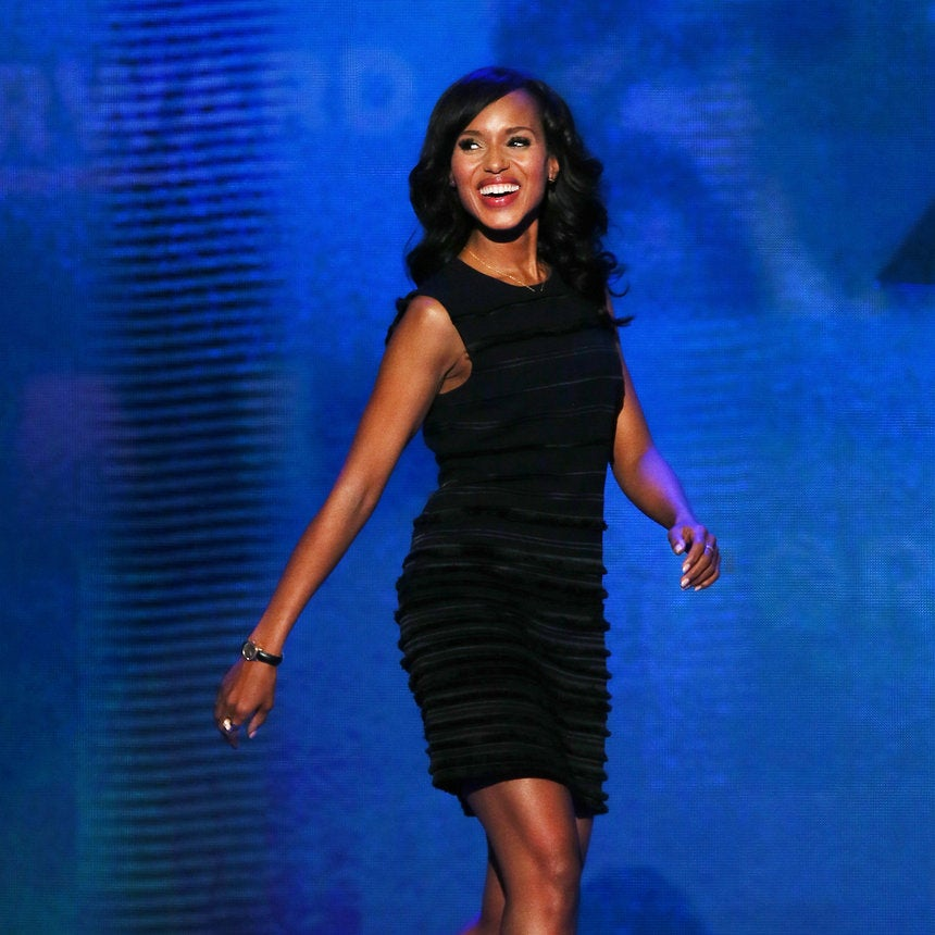 DNC Report: Kerry Washington on Why She's Voting Obama