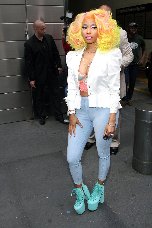 Nicki Minaj Slams Mariah Carey On Twitter