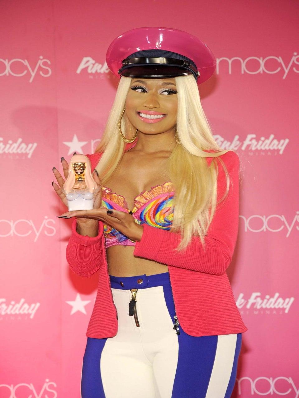 Nicki Minaj Debuts Pink Friday Fragrance