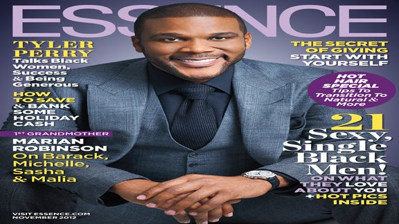 Tyler Perry Graces the November Issue of ESSENCE