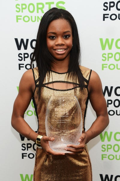 Gabby Douglas Wins Sportswoman of the Year Award