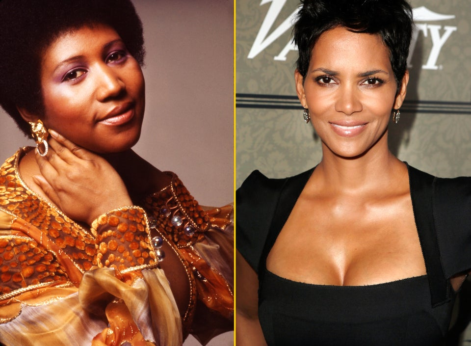 Are Aretha Franklin and Halle Berry Cousins?