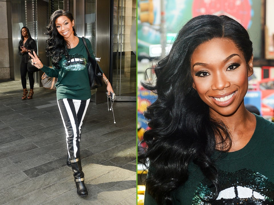 Must-See: Brandy Performs 'Put It Down' on <i>Good Morning America</i>