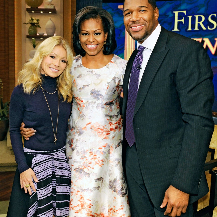 First Lady Style: Watercolor Works
