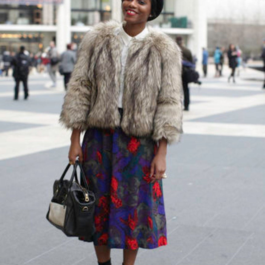 Street Style: Fashionable Fur