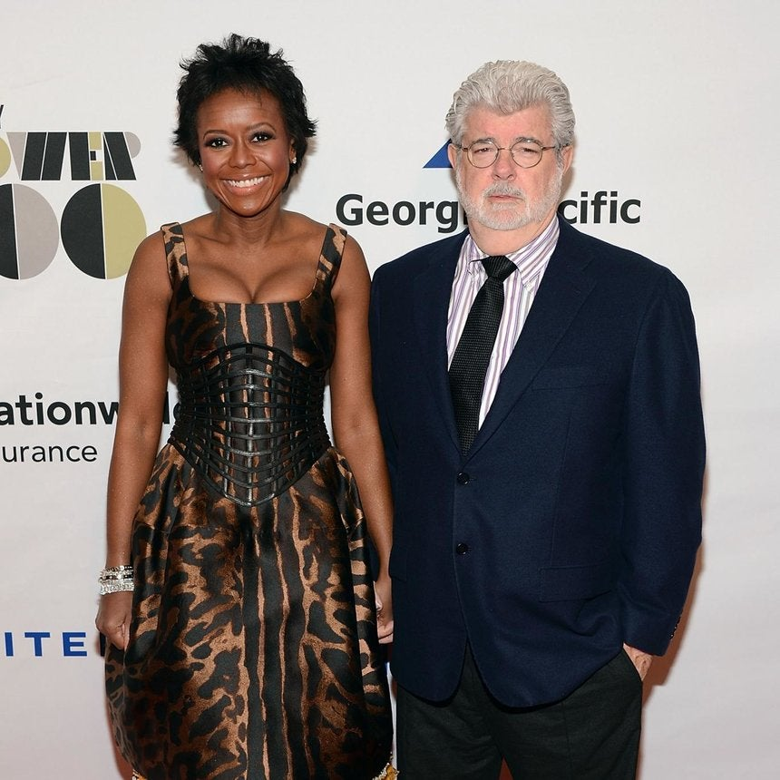 'Star Wars' Creator George Lucas Gets Engaged to Mellody Hobson