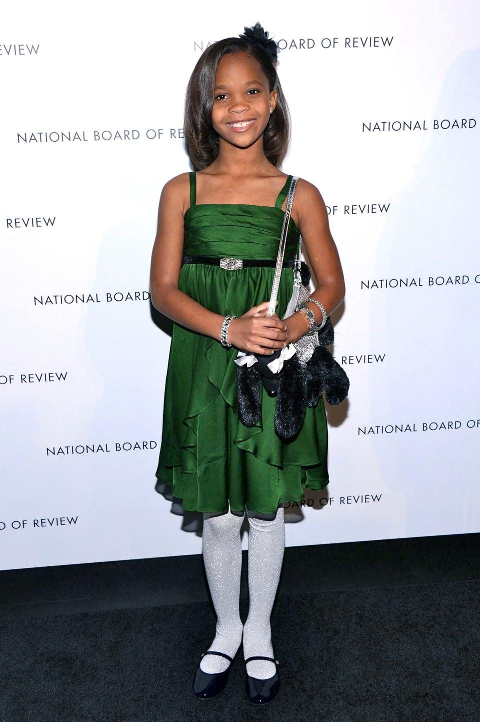 Quvenzhane Wallis Wins Best Young Actress Critics Choice Award