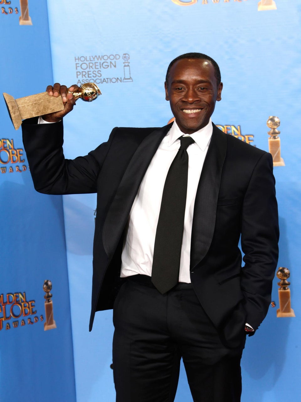 Don Cheadle Wins a Golden Globe for Best Actor in a TV Series (Comedy)