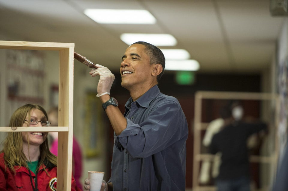 POTUS Honors MLK on National Day of Service