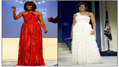 When Did She Wear it Best?: First Lady Inauguration Style