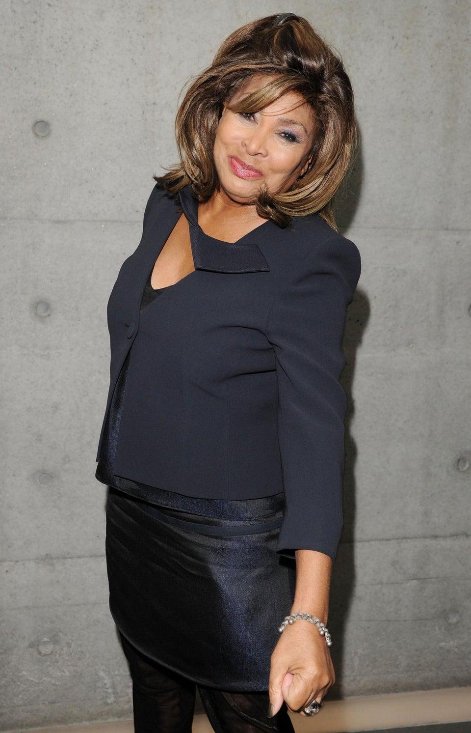 Tina Turner Ties The Knot
